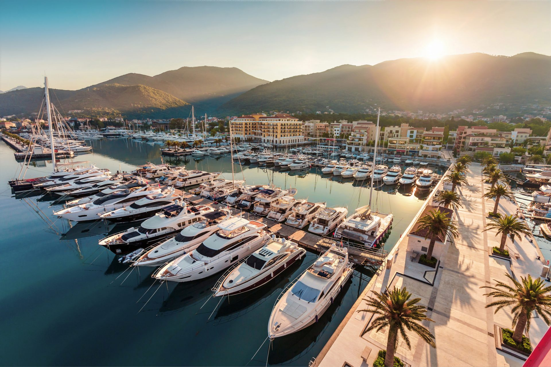 """Porto Montenegro is in our real estate """"Park Residence"""" neighbourhood"""
